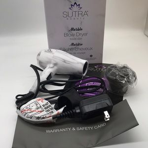 NEW-Sutra Beauty Marble Blow Dryer Travel Size